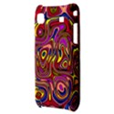 Abstract Shimmering Multicolor Swirly Samsung Galaxy S i9000 Hardshell Case  View3