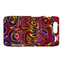 Abstract Shimmering Multicolor Swirly Motorola Droid Razr XT912 View1