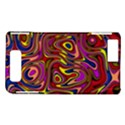 Abstract Shimmering Multicolor Swirly Motorola DROID X2 View1