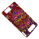 Abstract Shimmering Multicolor Swirly Motorola DROID X2 View5