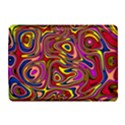 Abstract Shimmering Multicolor Swirly Kindle 4 View1