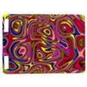 Abstract Shimmering Multicolor Swirly Kindle Touch 3G View1