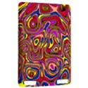 Abstract Shimmering Multicolor Swirly Kindle Touch 3G View2