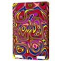 Abstract Shimmering Multicolor Swirly Kindle Touch 3G View3