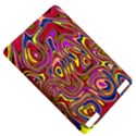 Abstract Shimmering Multicolor Swirly Kindle Touch 3G View5
