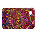 Abstract Shimmering Multicolor Swirly Samsung Galaxy Tab 7  P1000 Hardshell Case  View1