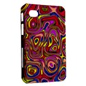 Abstract Shimmering Multicolor Swirly Samsung Galaxy Tab 7  P1000 Hardshell Case  View2