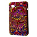 Abstract Shimmering Multicolor Swirly Samsung Galaxy Tab 7  P1000 Hardshell Case  View3