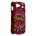Abstract Shimmering Multicolor Swirly Samsung Galaxy Nexus S i9020 Hardshell Case View2