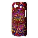 Abstract Shimmering Multicolor Swirly Samsung Galaxy Nexus S i9020 Hardshell Case View3