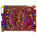 Abstract Shimmering Multicolor Swirly Apple iPad 2 Hardshell Case (Compatible with Smart Cover) View1