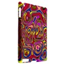Abstract Shimmering Multicolor Swirly Apple iPad 2 Hardshell Case (Compatible with Smart Cover) View2
