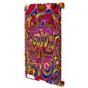Abstract Shimmering Multicolor Swirly Apple iPad 2 Hardshell Case (Compatible with Smart Cover) View3
