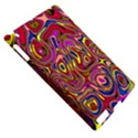 Abstract Shimmering Multicolor Swirly Apple iPad 2 Hardshell Case (Compatible with Smart Cover) View5