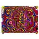 Abstract Shimmering Multicolor Swirly Apple iPad 3/4 Hardshell Case (Compatible with Smart Cover) View1