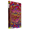 Abstract Shimmering Multicolor Swirly Apple iPad 3/4 Hardshell Case (Compatible with Smart Cover) View2