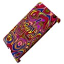 Abstract Shimmering Multicolor Swirly Apple iPad 3/4 Hardshell Case (Compatible with Smart Cover) View4