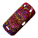 Abstract Shimmering Multicolor Swirly BlackBerry Curve 9380 View4