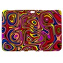 Abstract Shimmering Multicolor Swirly Samsung Galaxy Tab 8.9  P7300 Hardshell Case  View1