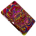 Abstract Shimmering Multicolor Swirly Samsung Galaxy Tab 8.9  P7300 Hardshell Case  View5