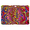 Abstract Shimmering Multicolor Swirly Samsung Galaxy Tab 10.1  P7500 Hardshell Case  View1