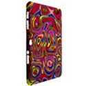 Abstract Shimmering Multicolor Swirly Samsung Galaxy Tab 10.1  P7500 Hardshell Case  View2