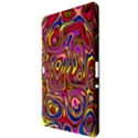 Abstract Shimmering Multicolor Swirly Samsung Galaxy Tab 10.1  P7500 Hardshell Case  View3