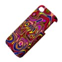 Abstract Shimmering Multicolor Swirly Apple iPhone 4/4S Premium Hardshell Case View4