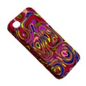 Abstract Shimmering Multicolor Swirly Apple iPhone 4/4S Premium Hardshell Case View5