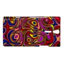 Abstract Shimmering Multicolor Swirly Sony Xperia S View1