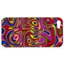 Abstract Shimmering Multicolor Swirly Apple iPhone 5 Hardshell Case View1