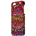 Abstract Shimmering Multicolor Swirly Apple iPhone 5 Hardshell Case View3