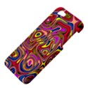 Abstract Shimmering Multicolor Swirly Apple iPhone 5 Hardshell Case View4