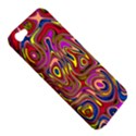 Abstract Shimmering Multicolor Swirly Apple iPhone 5 Hardshell Case View5