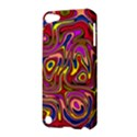 Abstract Shimmering Multicolor Swirly Apple iPod Touch 5 Hardshell Case View3