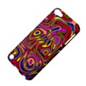 Abstract Shimmering Multicolor Swirly Apple iPod Touch 5 Hardshell Case View4