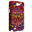 Abstract Shimmering Multicolor Swirly Samsung Galaxy Note 2 Hardshell Case View2