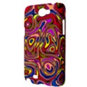 Abstract Shimmering Multicolor Swirly Samsung Galaxy Note 2 Hardshell Case View3