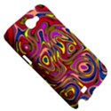 Abstract Shimmering Multicolor Swirly Samsung Galaxy Note 2 Hardshell Case View5