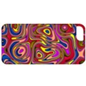 Abstract Shimmering Multicolor Swirly Apple iPhone 5 Classic Hardshell Case View1
