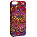 Abstract Shimmering Multicolor Swirly Apple iPhone 5 Classic Hardshell Case View2