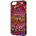 Abstract Shimmering Multicolor Swirly Apple iPhone 5 Classic Hardshell Case View3