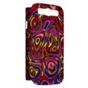 Abstract Shimmering Multicolor Swirly Samsung Galaxy S III Hardshell Case (PC+Silicone) View2
