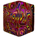 Abstract Shimmering Multicolor Swirly Apple iPad 3/4 Flip Case View4