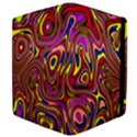 Abstract Shimmering Multicolor Swirly Apple iPad Mini Flip Case View4