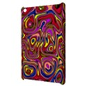 Abstract Shimmering Multicolor Swirly Apple iPad Mini Hardshell Case View3