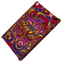 Abstract Shimmering Multicolor Swirly Apple iPad Mini Hardshell Case View4