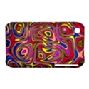 Abstract Shimmering Multicolor Swirly Apple iPhone 3G/3GS Hardshell Case (PC+Silicone) View1