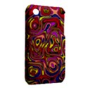 Abstract Shimmering Multicolor Swirly Apple iPhone 3G/3GS Hardshell Case (PC+Silicone) View2