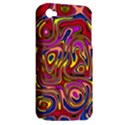Abstract Shimmering Multicolor Swirly Apple iPhone 4/4S Hardshell Case (PC+Silicone) View2